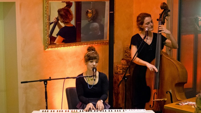 Ladybird in Cafe Herzog
