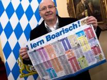 """Sprachtafel für Flüchtlinge ´I lern Boarisch"""""""