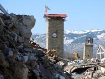 Nach den Erdbeben in Mittelitalien
