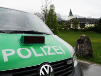 G7 Gipfel - Polizeipräsenz