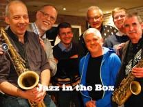 Jazz in the Box mit Frank Haschler und anderen Musikern aus dem Landkreis