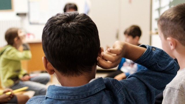 Schulunterricht für Flüchtlingskinder