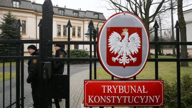 Polnisches Verfassungsgericht in Warschau