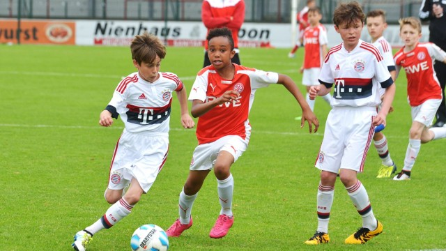 26 05 2016 Jugend Fussball Saison 2015 2016 Stadion Poststrasse Verl 8 PT Sports Juniorcup 20