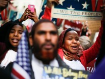 Activists Gather In Times Square In Day Of Solidarity With American Muslims