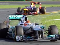 Formel 1 - GP Australien - Schumacher Vettel