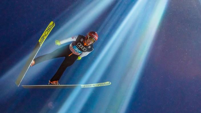 06 01 2017 Paul Ausserleitner Schanze Bischofshofen AUT FIS Weltcup Ski Sprung Vierschanzentour