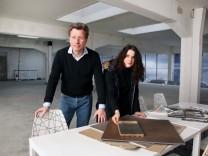 Andreas und Sylvia Bienert stellen ihr Projekt vor; Andreas und Sylvia Bienert planen: