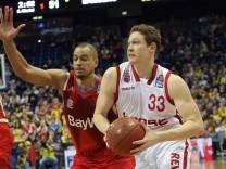 Alex King FC Bayern Muenchen Basketball Patrick Heckmann brose bamberg FC Bayern Basketball