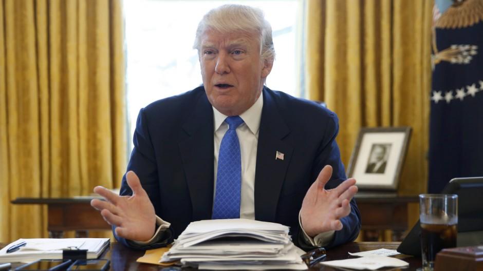 Donald Trump spricht über atomare Aufrüstung