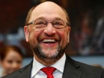 FILE PHOTO - Former EU president Schulz attends SPD parliamentary fraction meeting in Berlin