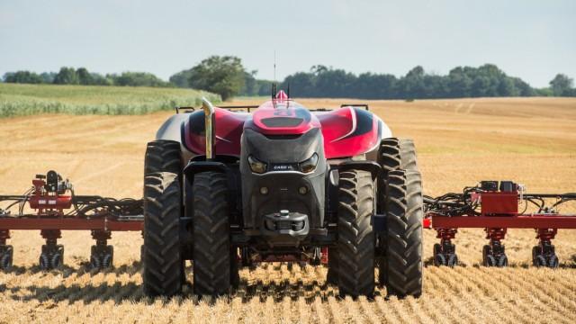 Autonomer Traktor Case IH