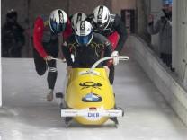 Bobsleigh - BMW IBSF Bob & Skeleton World Championships - 4-men training - Koenigssee