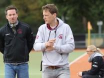 Trainer Stefan Kermas Co Trainer Konstantin Rentrop Münchner SC Hockey Männer 2 BL Feld; Hockey