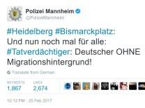 Polizei Mannheim