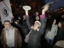 Proteste in Weißrussland