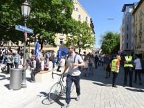 Einweihung des Wedekindplatzes in München, 2016