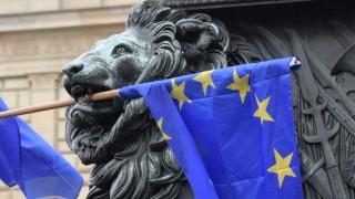 Europäische Union Demonstration