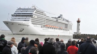 FRANCE-SEA-TRANSPORT-CRUISE-SPLENDIDA