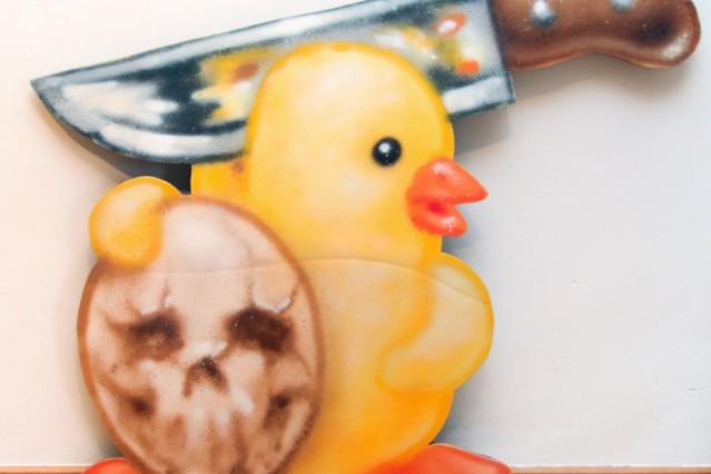 All chicken are beautiful im Buchheim-Museum; WONABC stellt aus: