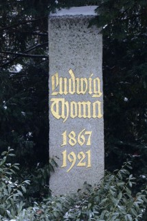 Ludwig Thoma Diskussion