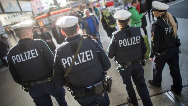 Polizisten auf Streife