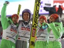 FIS Nordic Ski World Championships - Mixed Team Ski Jumping Normal Hill