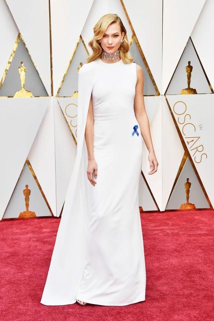 Karlie Kloss at the 89th Annual Academy Awards - Arrivals