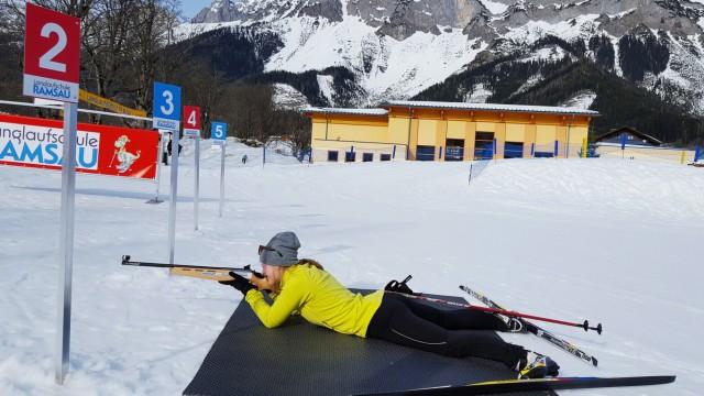 Biathlon Biathlon-Kurs für Teenager