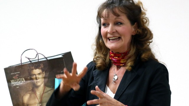 Barbara Weinzierl im Klinikum