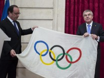 IOC President Thomas Bach in Paris