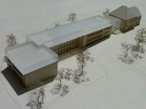 Schule Kirchseeon, Erweiterung, Modell
