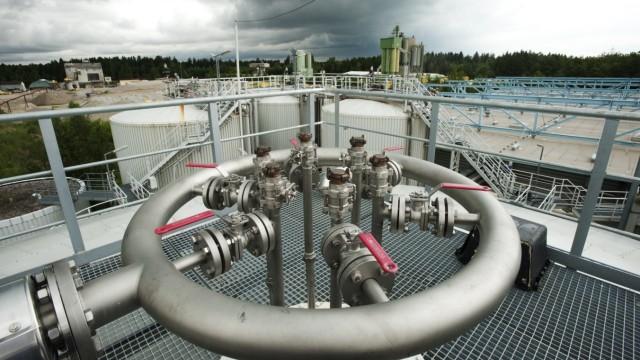 Biomüllvergärungsanlage in Kirchstockach, 2011