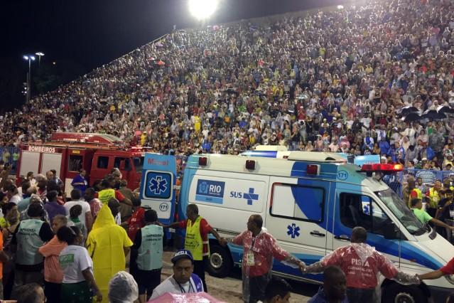 Schwerer Unfall vor Finale des Karnevals in Rio