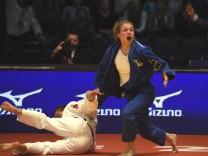 Judo Düsseldorf Grand Prix 2017 24 02 2017 Finale Frauen bis 57 KG Theresa Stoll Deutschland; Judo