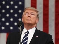 US-Präsident Donald Trump im Kongress