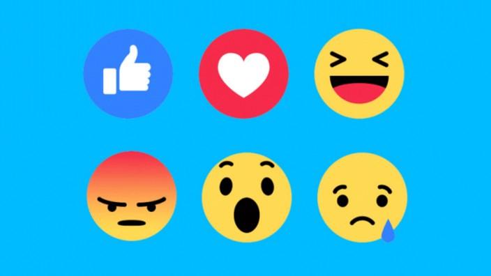 Bei Facebook zählen Herzen jetzt mehr als Likes - Digital