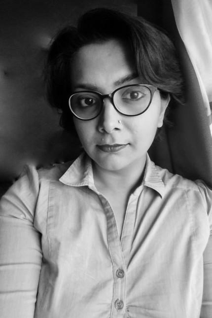Meera Jamal, 34, ist eine pakistanische Journalistin. In ihrer Heimat arbeitete sie für die Zeitung The Dawn. Nach Drohungen wegen ihrer Arbeit flüchtete sie 2008 und lebt heute mit ihrer Familie in Wiesbaden. (Foto: oh)
