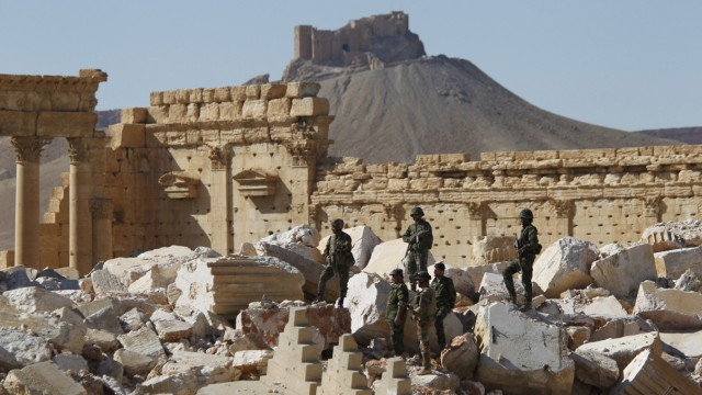 FILE PHOTO: Islamic State driven out of Syria's ancient Palmyra