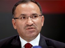 Turkish Minister Of Justice Bozdag Holds News Conference On Extradition Request Of Cleric Fethullen Gullen