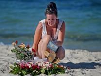 *** BESTPIX *** The Investigation Continues Into The Terrorist Attack On A Tunisian Beach