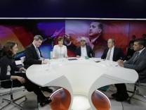 Aydan Özoguz SPD Politikerin seit 2013 Staatsministerin und Beauftragte der Bundesregierung für M