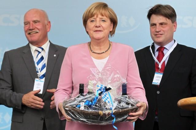 Angela Merkel in Aschaffenburg