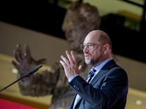 Konferenz der Jusos mit Martin Schulz