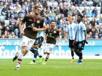 Lasse Sobiech FC St Pauli 3 nach dem 1 1 TSV 1860 Muenchen vs FC St Pauli 2 Bundesliga Fuss; 1860