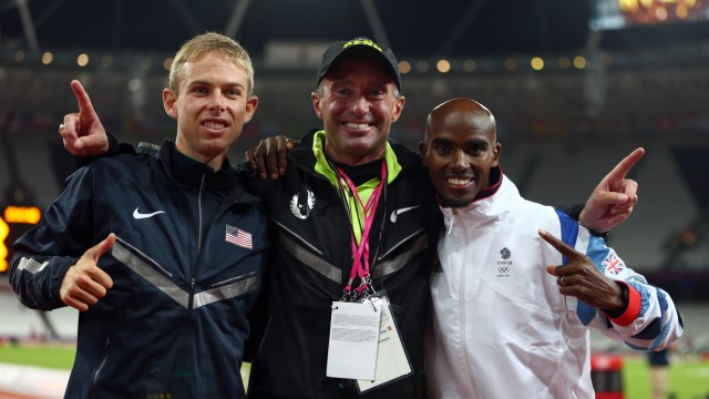 Olympics Day 8 - Athletics; Salazar