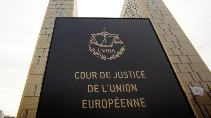 Europäischer Gerichtshof (EuGH) in Luxemburg