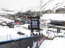 FILE PHOTO -  A general view of the alpine ski resort in Tignes
