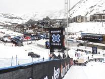 FILE PHOTO -  A general view of the alpine ski resort in Tignes