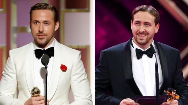 Ryan Gosling und sein deutscher Doppelgänger